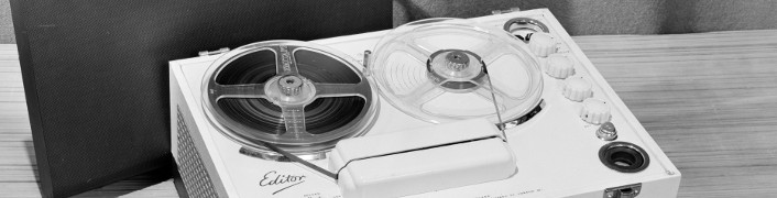 'Editor' portable reel to reel tape recorder