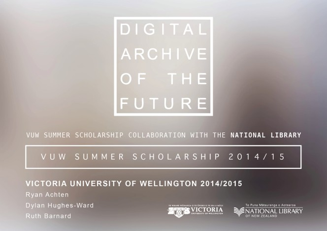 Digital Archive of the Future.