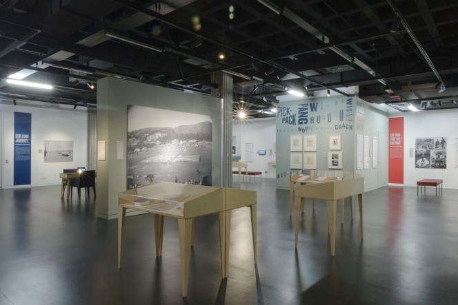 WW100: A Contemporary Conversation exhibition, National Library, 2015.