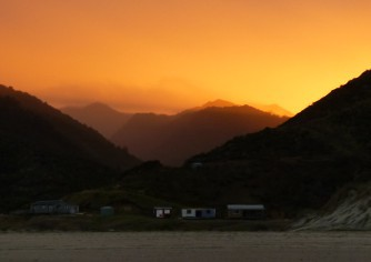 Sunrise at Mitimiti.