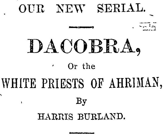 Advertising Dacobra in the Auckland Star.