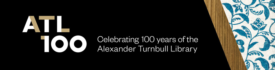 ATL 100 Celebrating 100 years of the Alexander Turnbull Library.