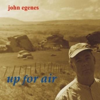 John Egenes album cover for 'Up for air'.