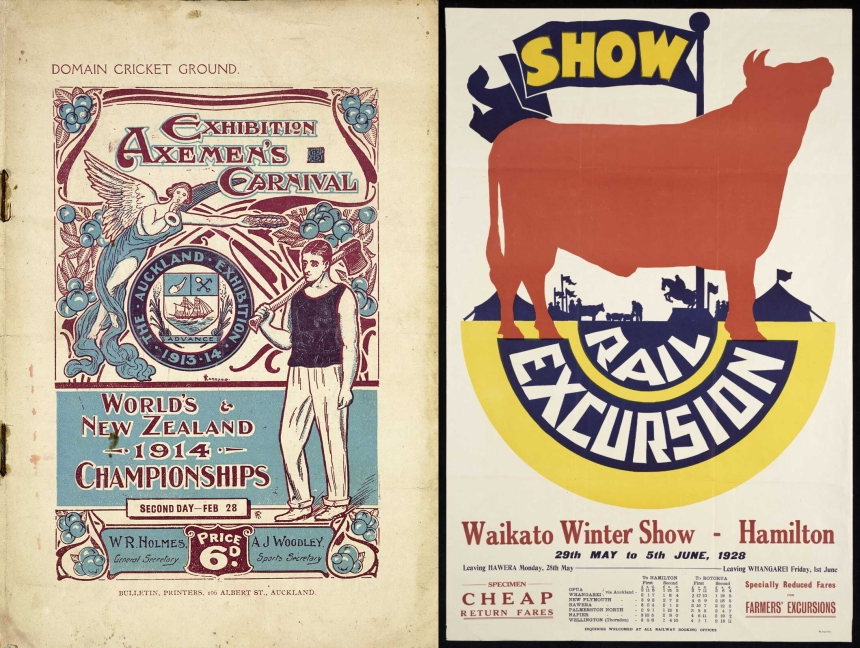 Two show programmes
