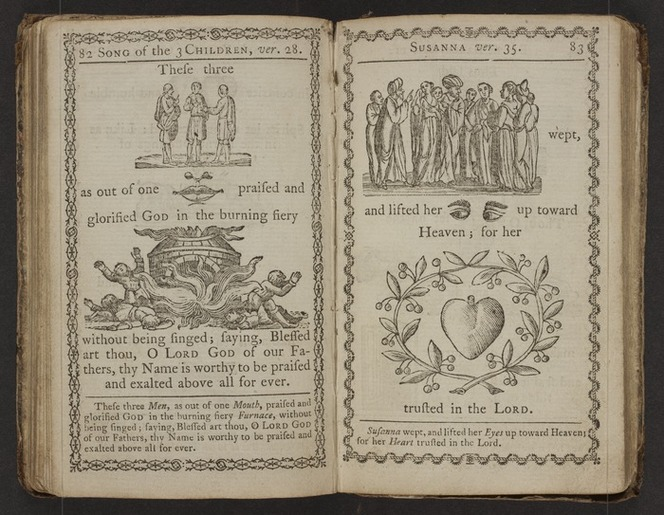 A curious hieroglyphick Bible; or, select passages in the Old and New Testaments, represented with emblematical figures, for the amusement of youth.