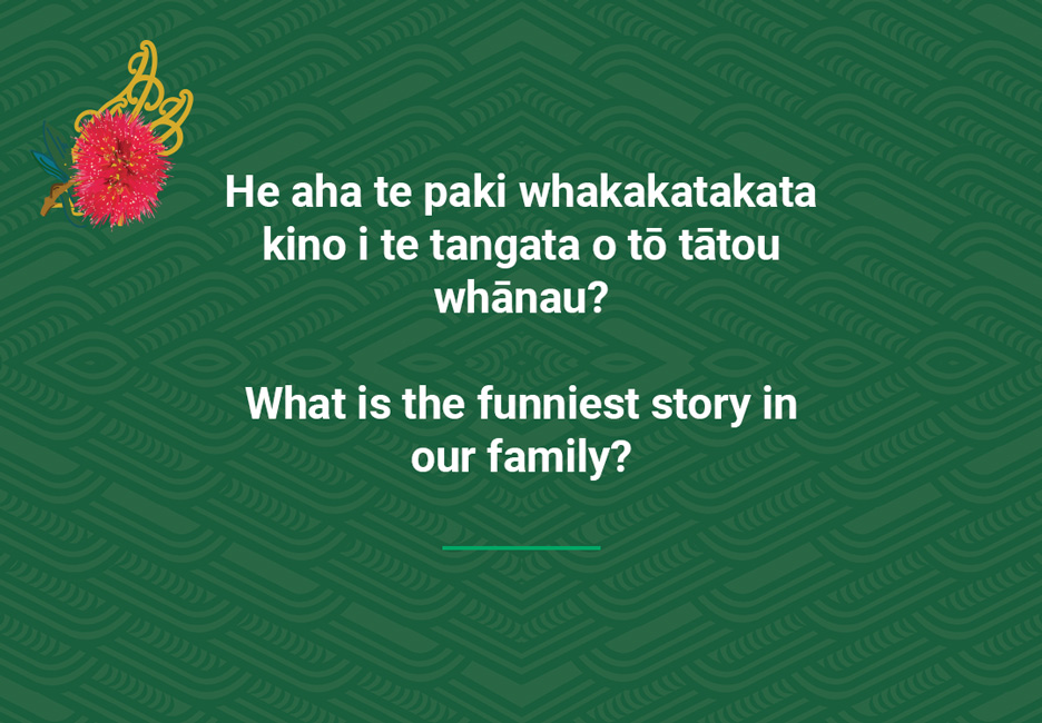What is the funniest story in our family?  [Funny story](/files/schools/hm53-funny-story-english.mp3)