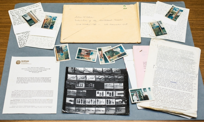 Selected contents of exhibition file no. 2. McCahon – The Northland Panels.
