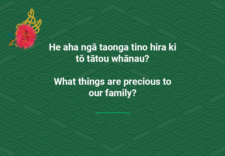 What things are precious to our family?  [Precious to our family](/files/schools/hm35-precious-to-our-family-english.mp3)