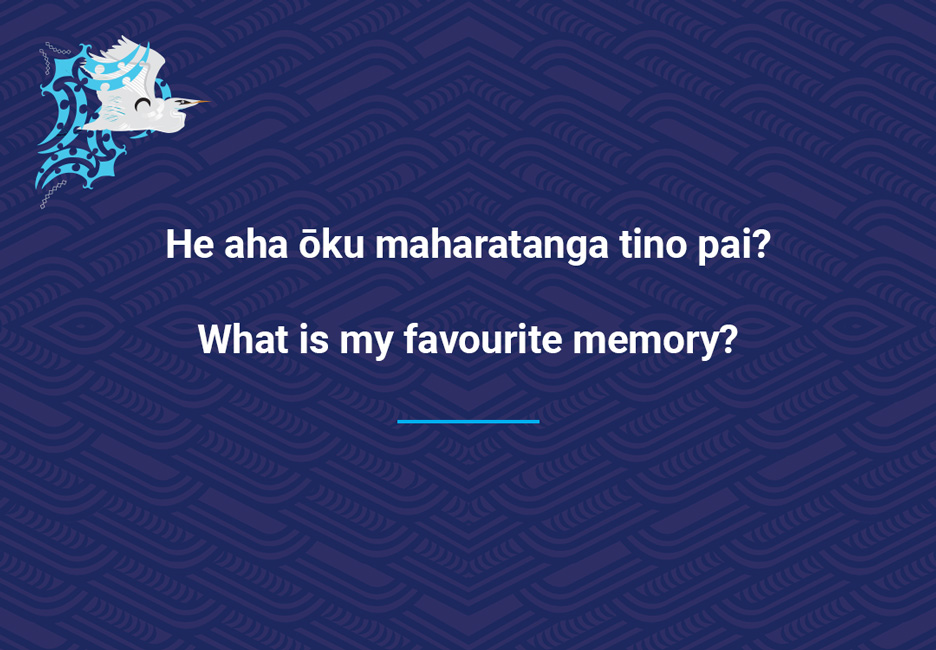 What is my favourite memory?  [My favourite memory](/files/schools/hm15-my-favourite-memory-english.mp3)