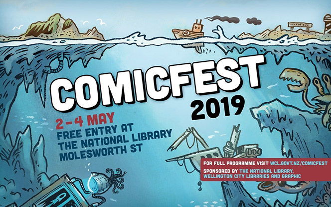 ComicFest 2019 2 to 4 May!