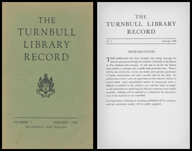 The 1940 cover and Intro pages of TLR.