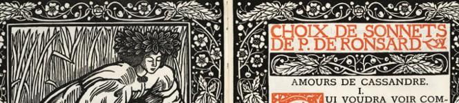Detail of Choix de sonnets, 1902