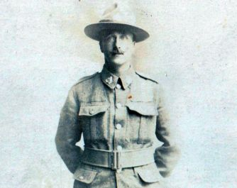 Ted Smith in uniform.