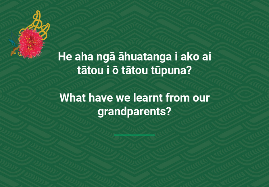 What have we learnt from our grandparents?  [Learnt from grandparents](/files/schools/hm45-learnt-from-grandparents-english.mp3)