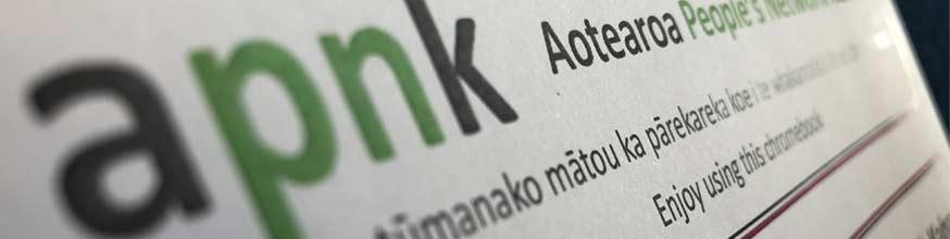 APNK Aotearoa people's network kaharoa.