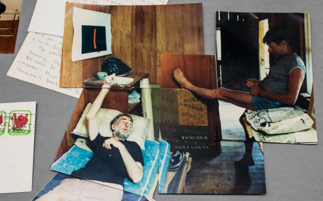 Barry Brickell and Michael Illingworth, Driving Creek, Coromandel 1988. Photographer: Peter McLeavey