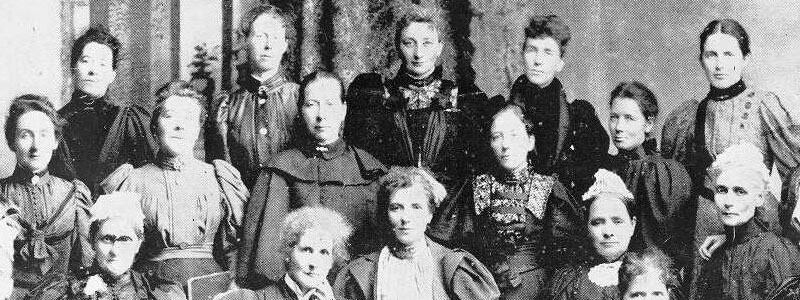 Several members of the National Council of Women.