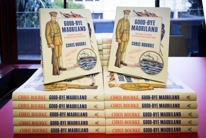 'Good-bye Maoriland' books stacked on top of each-other.