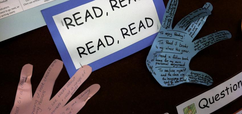 Strategies to create readers.