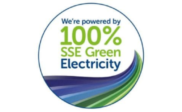 SSE 100% Green Electricity logo