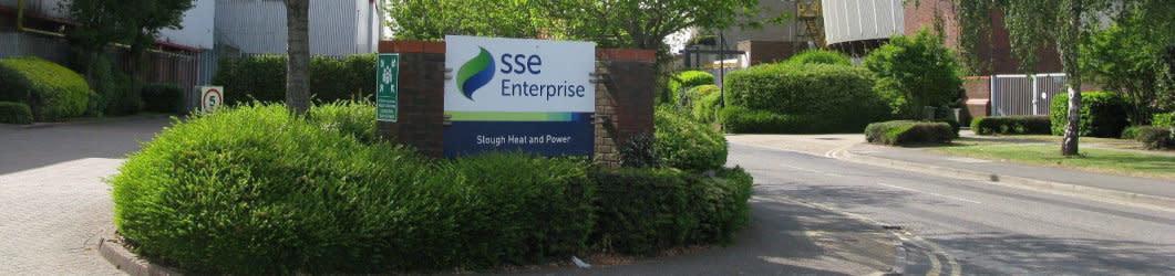 Exterior shot of SSE building in Slough