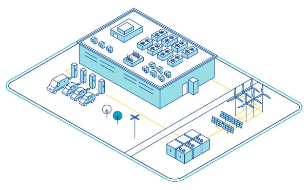 Distributed energy and infrastructure example