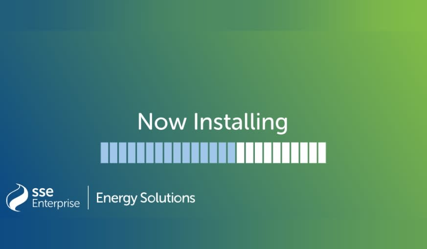 Now installing loading image