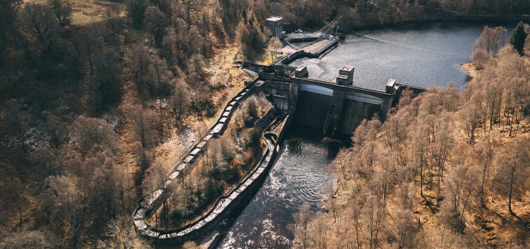 Tummel Dam