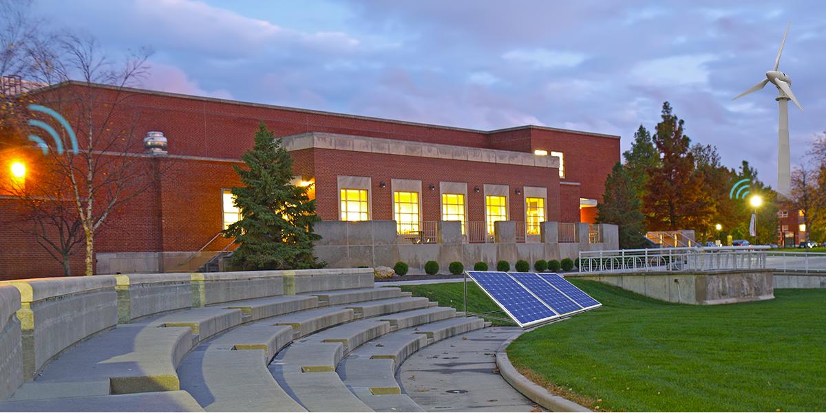 A Smart University campus