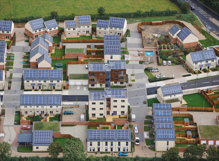 zero carbon community in Bicester, Oxfordshire