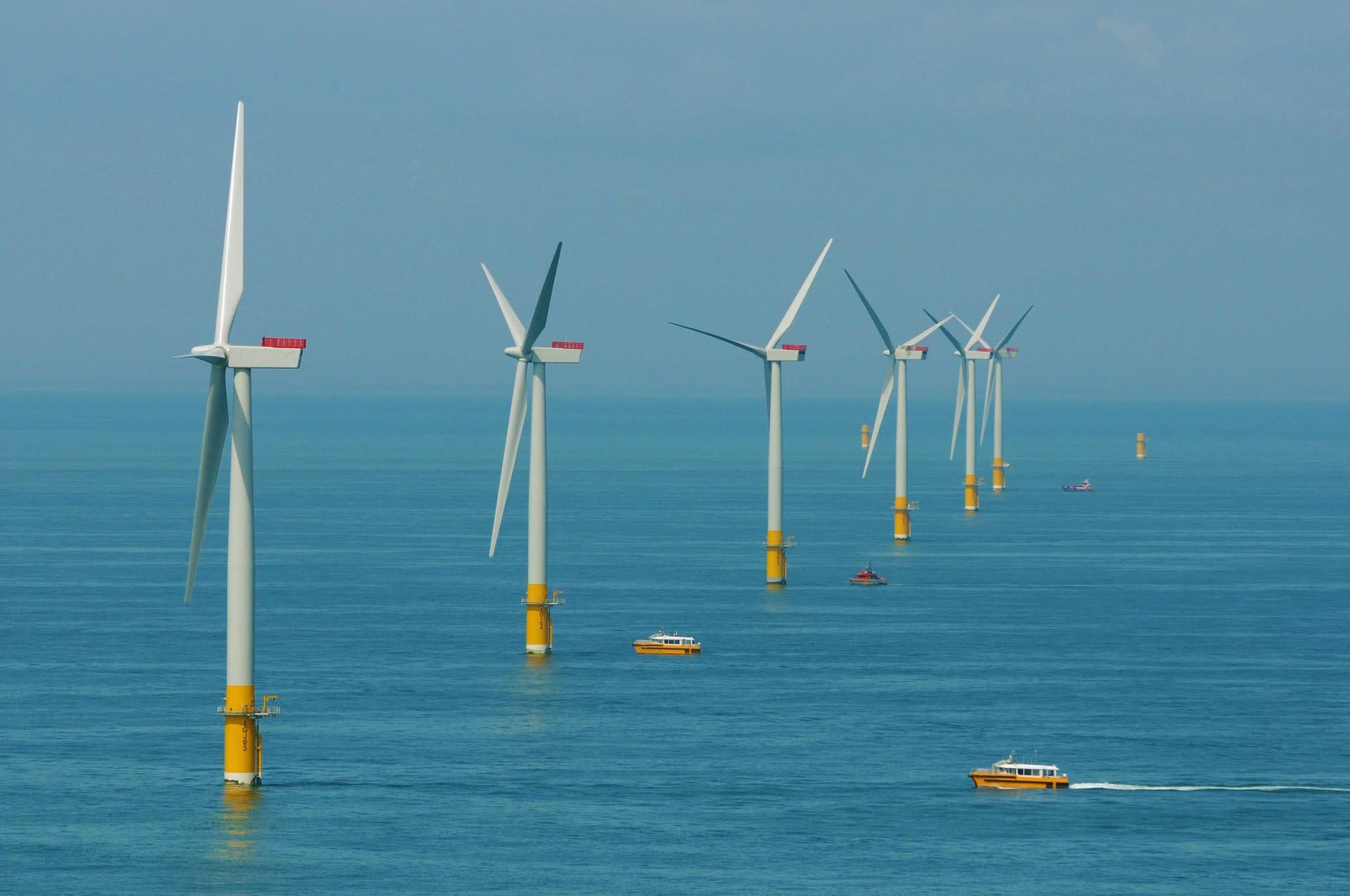 Greater Gabbard wind farm