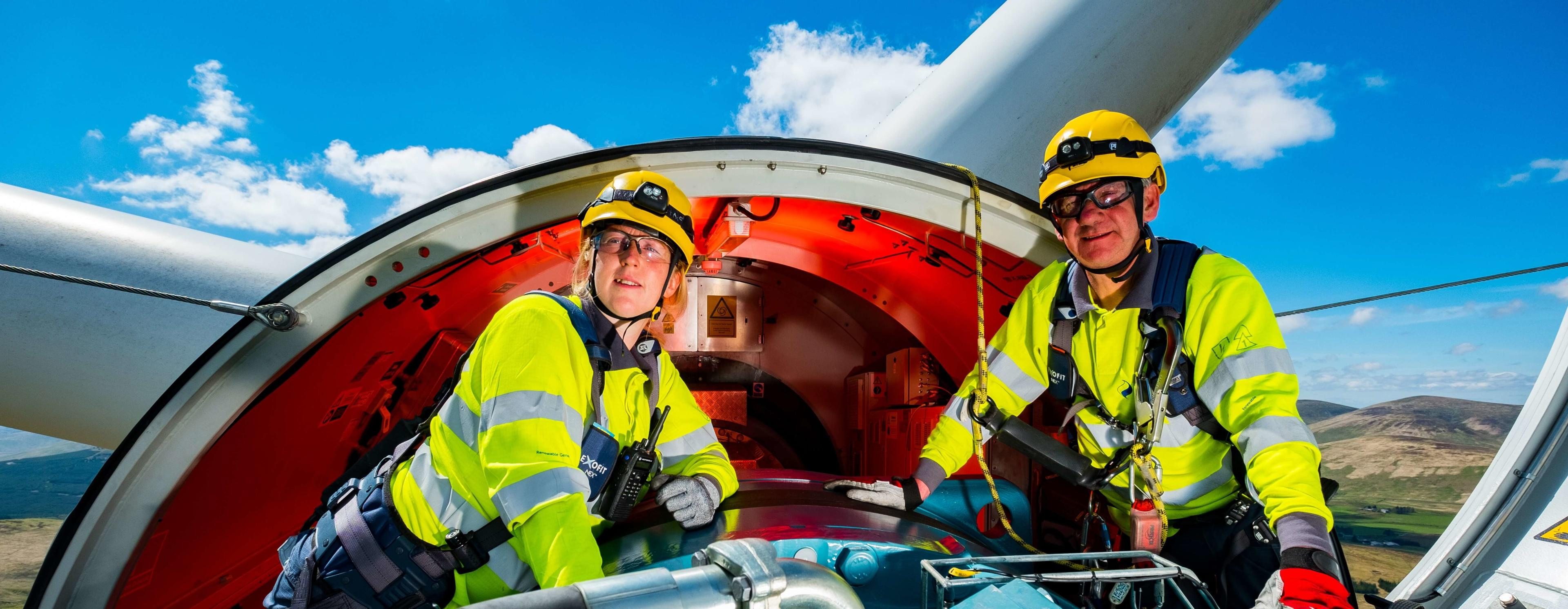 SSE health and safety rebrand project at Clyde Wind Farm