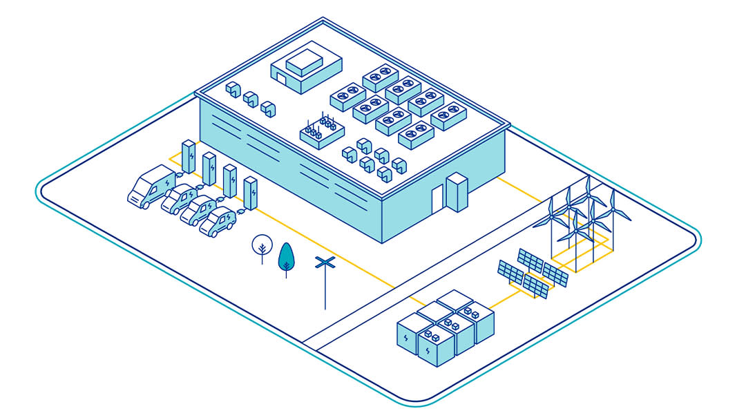 Data centres infographic