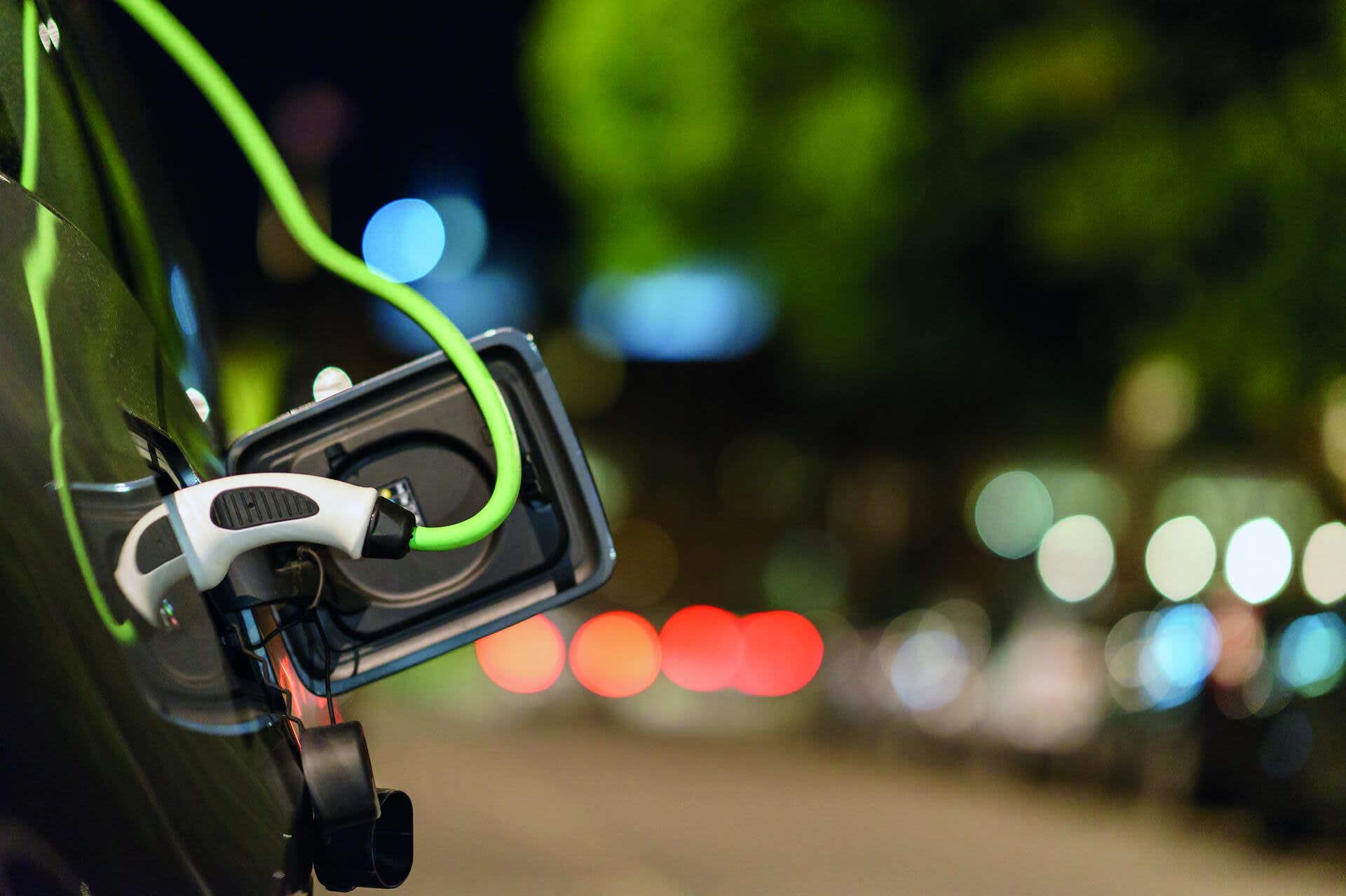 Electric vehicle pump
