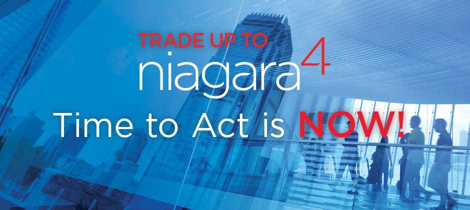 Trade up to niagara 4 poster