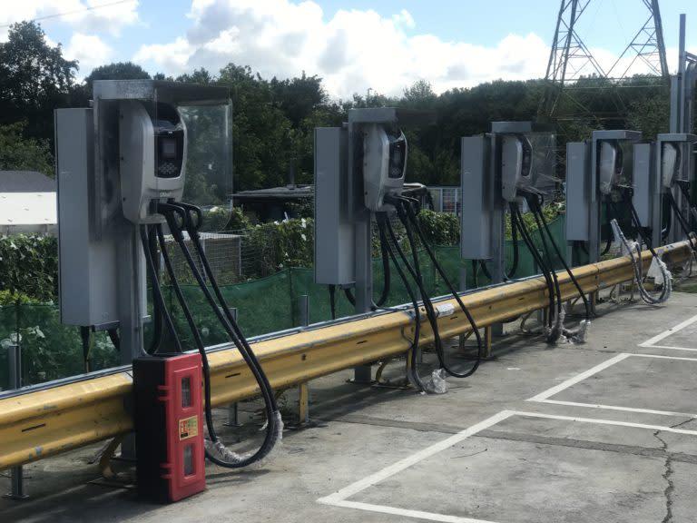 Northumberland Park charging