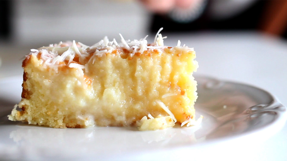 Dessert With Cake Mix And Sweetened Condensed Milk