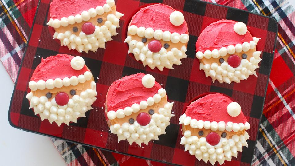Santa Cupcakes Recipe Tastemade
