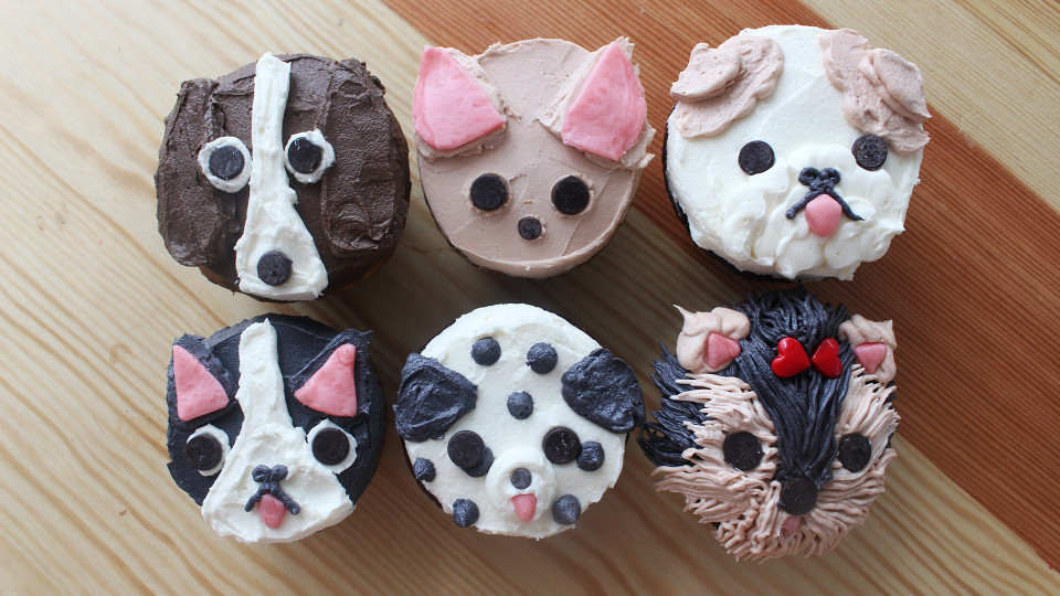 puppy dog cupcakes recipe tastemade
