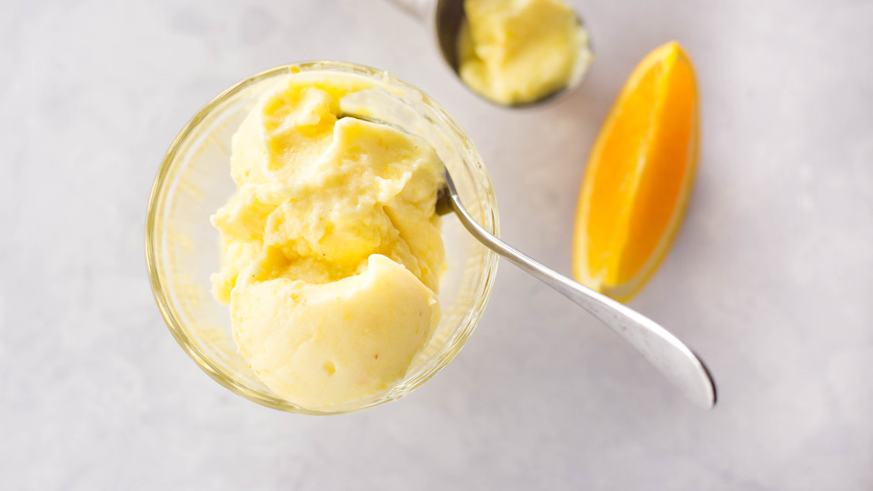 Pineapple Orange Sorbet ~ Healthy AF | Tastemade