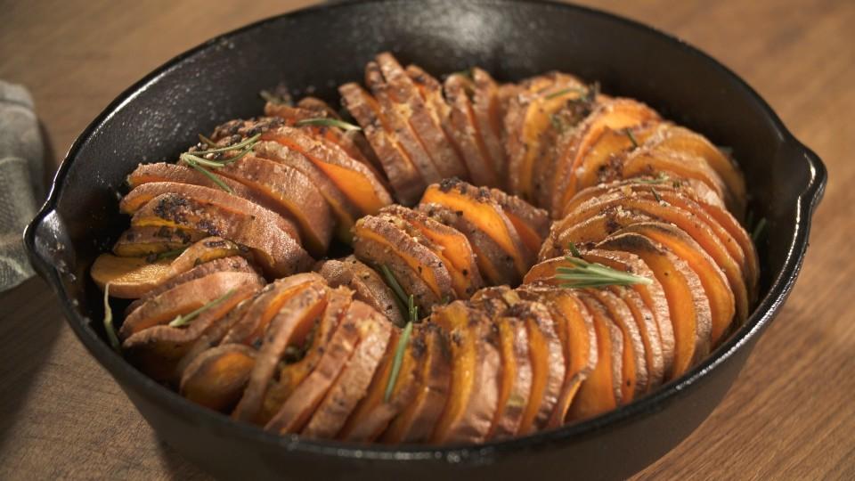 Rosemary And Garlic Sweet Potatoes Recipe Tastemade