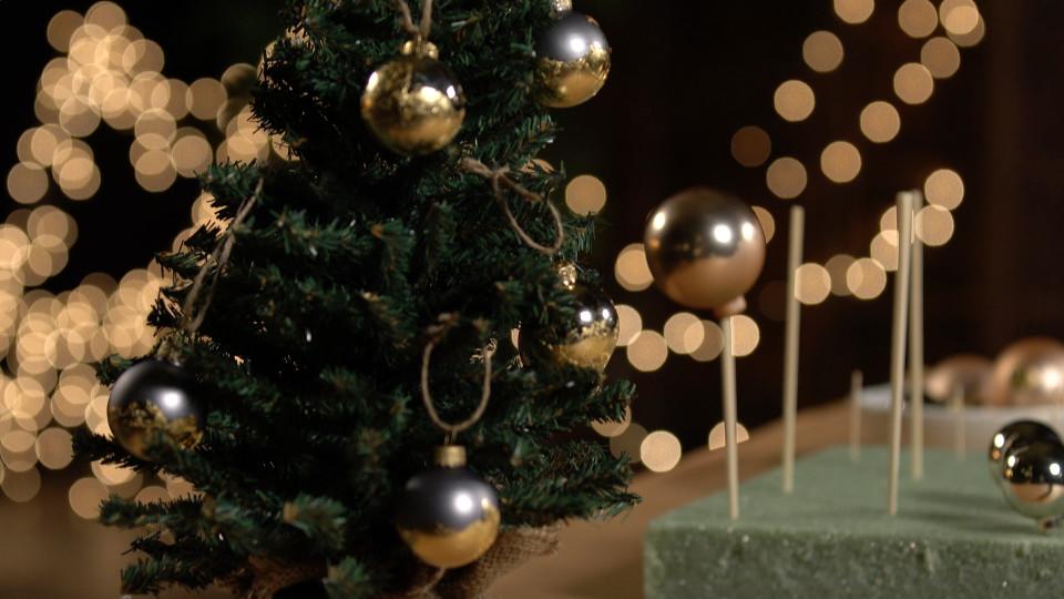 Gold Leaf Ornaments ~ Recipe