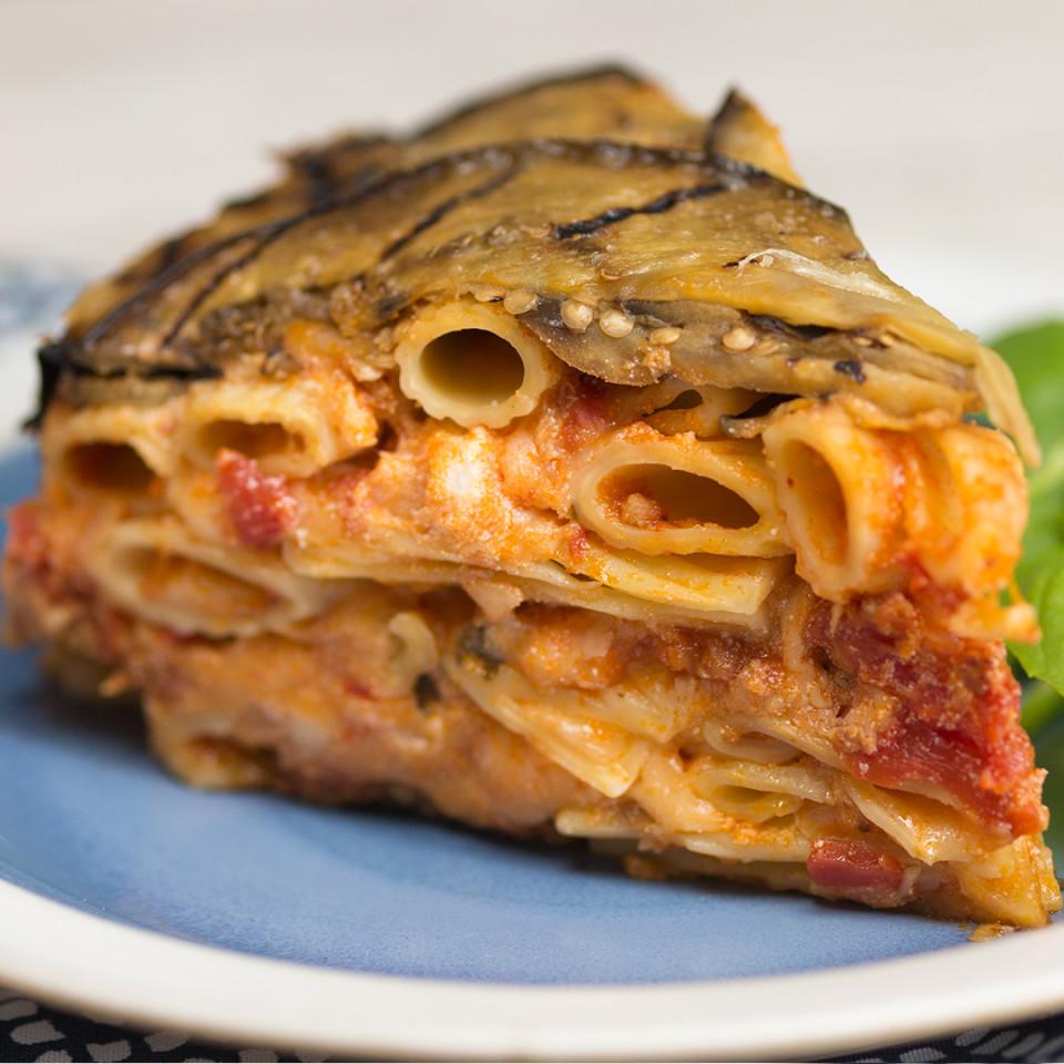 Eggplant Ziti Pie Recipe Tastemade
