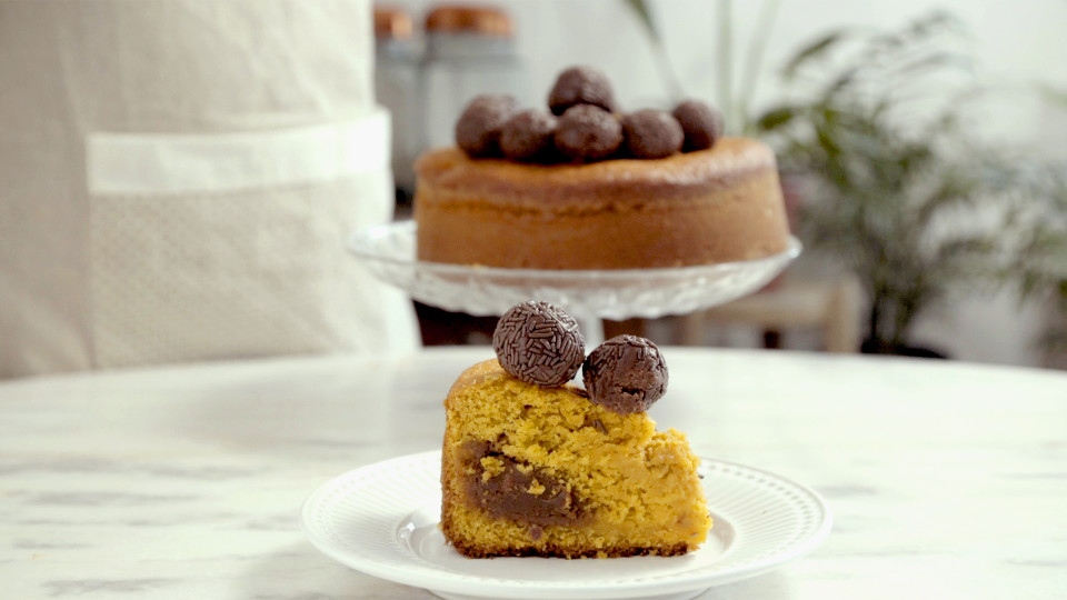 Brazilian Carrot Cake Brigadeiro