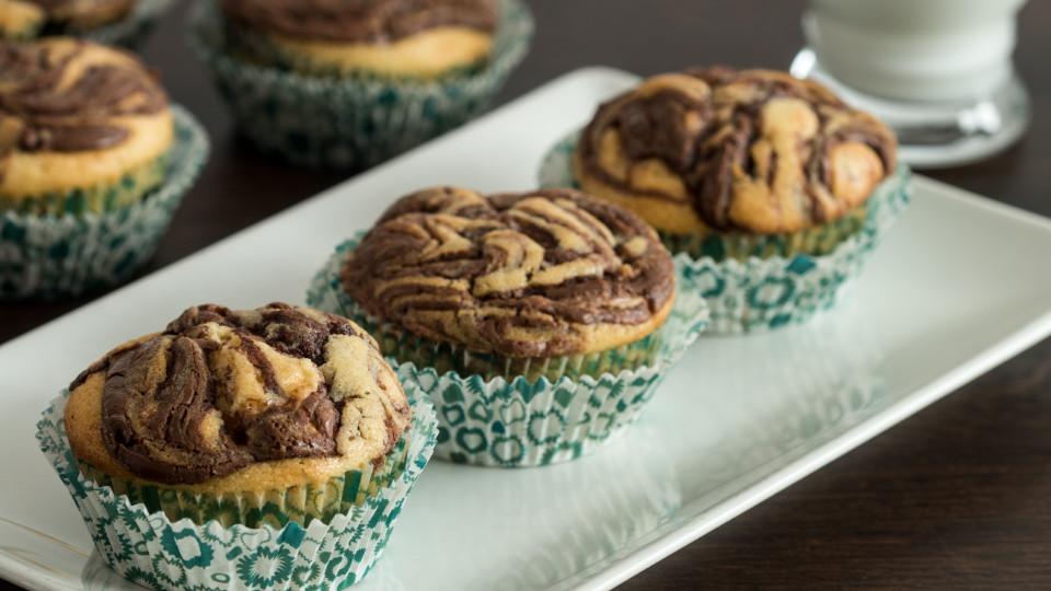 Nutella Swirl Muffins Recipe Tastemade