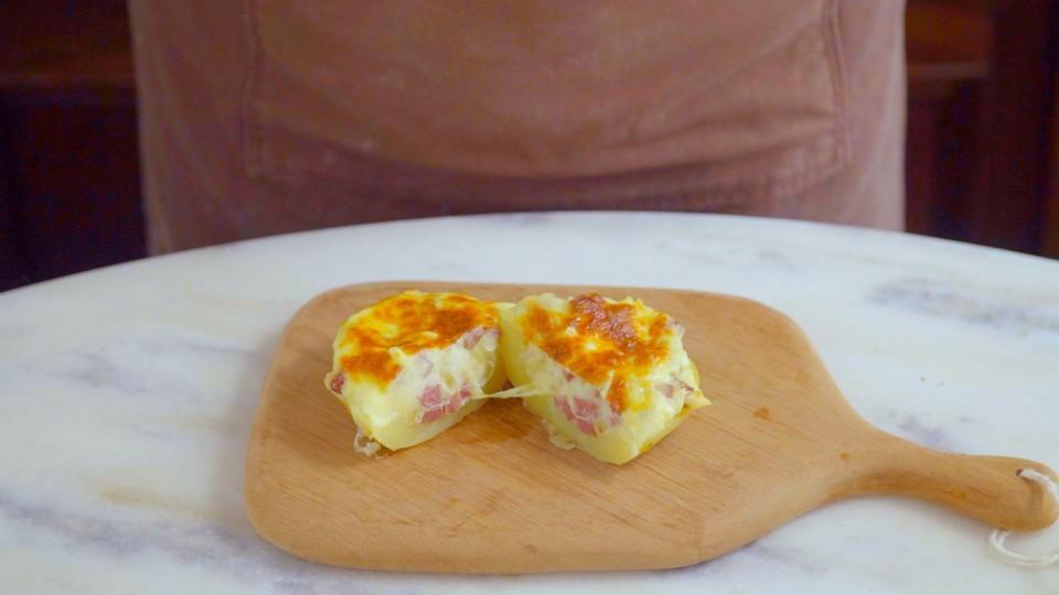 Creamy Stuffed Baked Potato With Sausage Recipe Tastemade