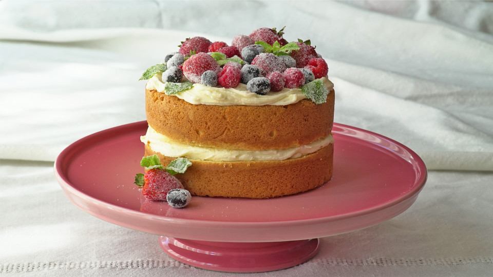 Simple Naked Cake Recipe Tastemade