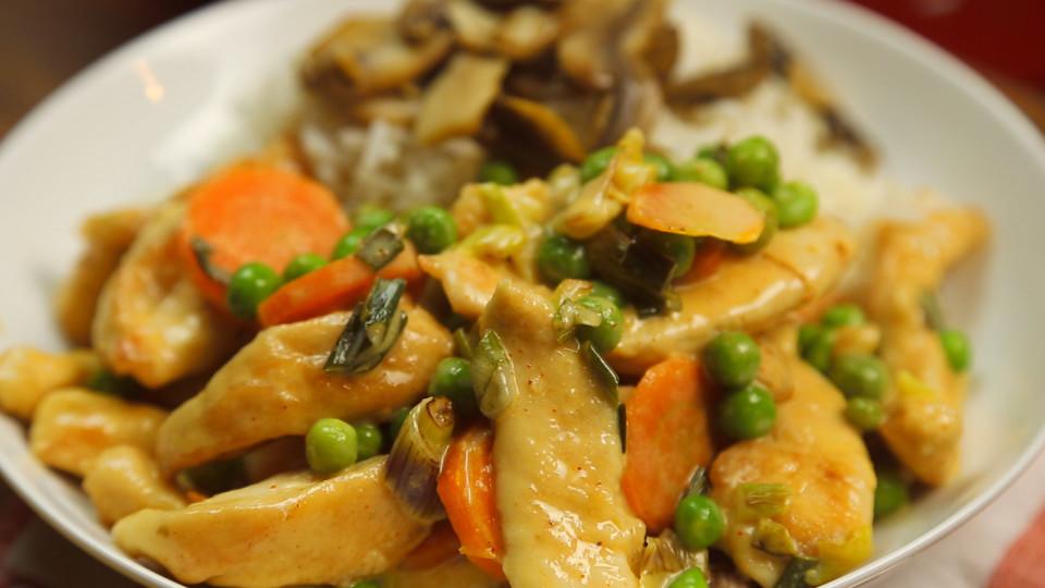 Chicken Stroganoff ~ Recipe | Tastemade