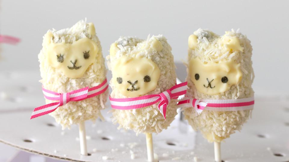 Llama Cake Pops Recipe Tastemade