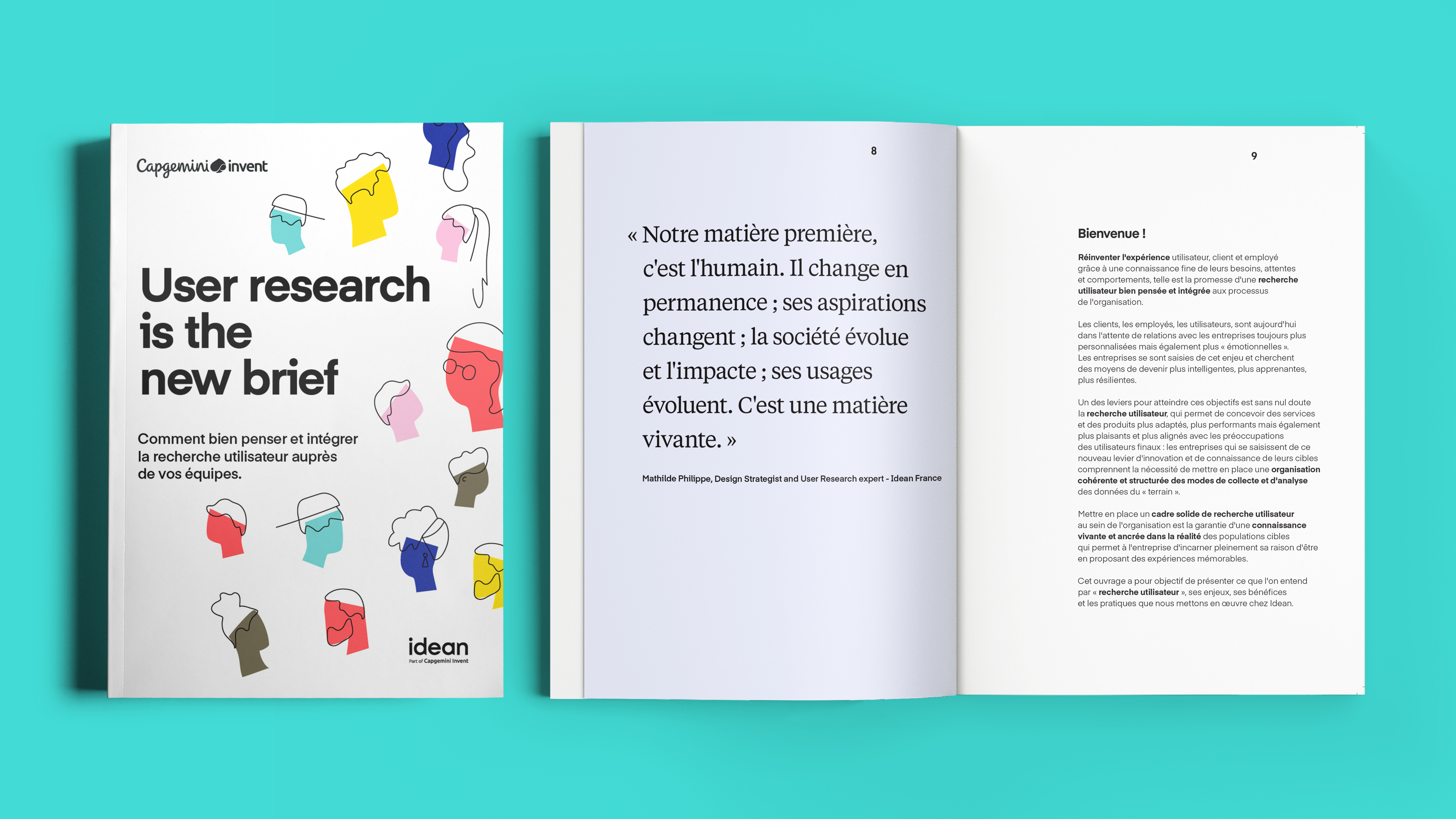 Mock Up FR User Research book